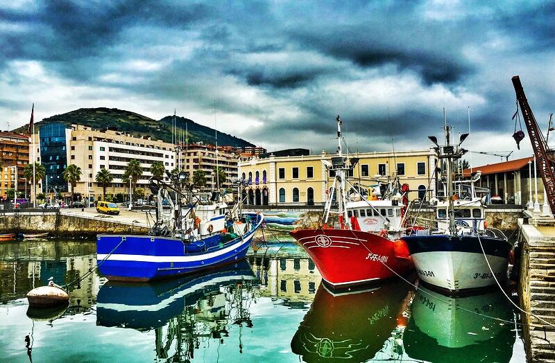 Santurtzi, Navega el camino